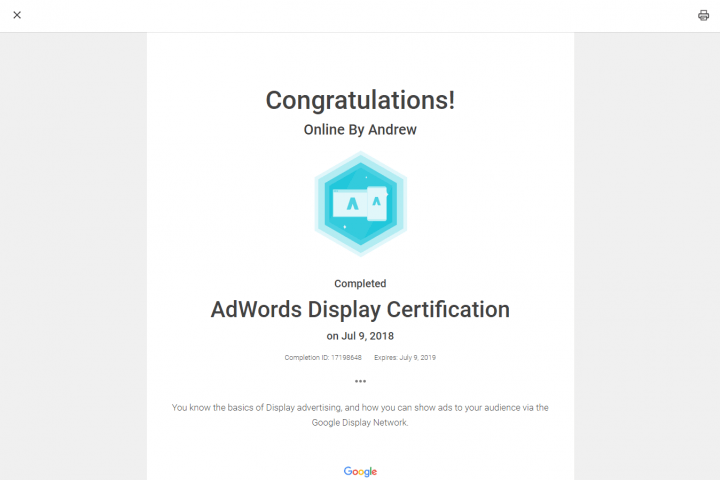 Google Adwords Display 8