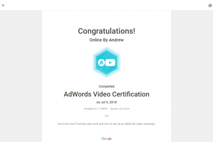 Google Adwords Video 7