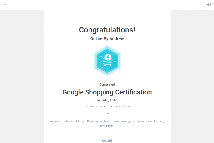 Google Shopping 5