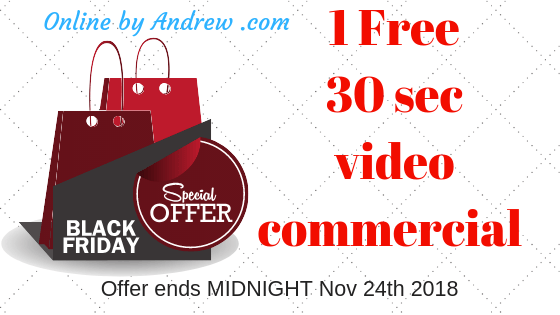 black friday 24 hours free video
